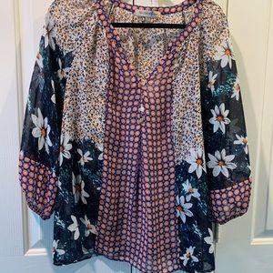 Sheer light weight blouse